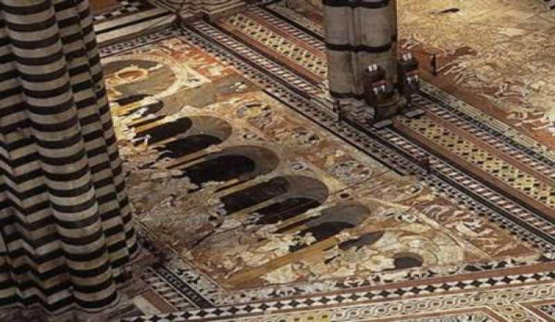 Duomo di Siena, il pavimento delle meraviglie